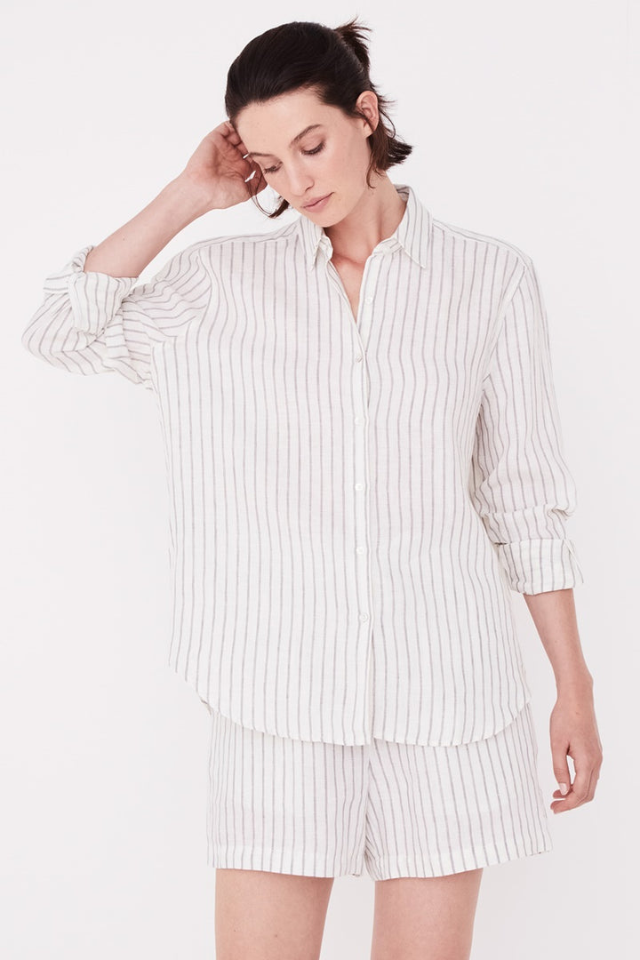 Assembly Label - Xander Long Sleeve Shirt - Airlie Stripe