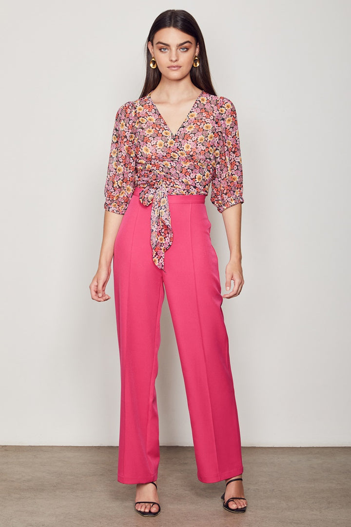 Wish - Florence Wrap Blouse