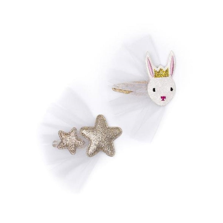Billy Loves Audrey - Ballet Bunny Star Clip Duo