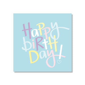 Just Smitten Mini Gift Card - Minty Birthday