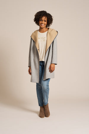 Eb & Ive - Evonne Jacket - Grey