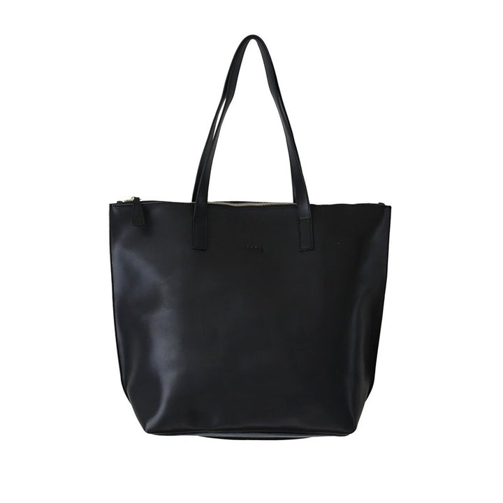 Hoopla - Large Zip Tote - Black