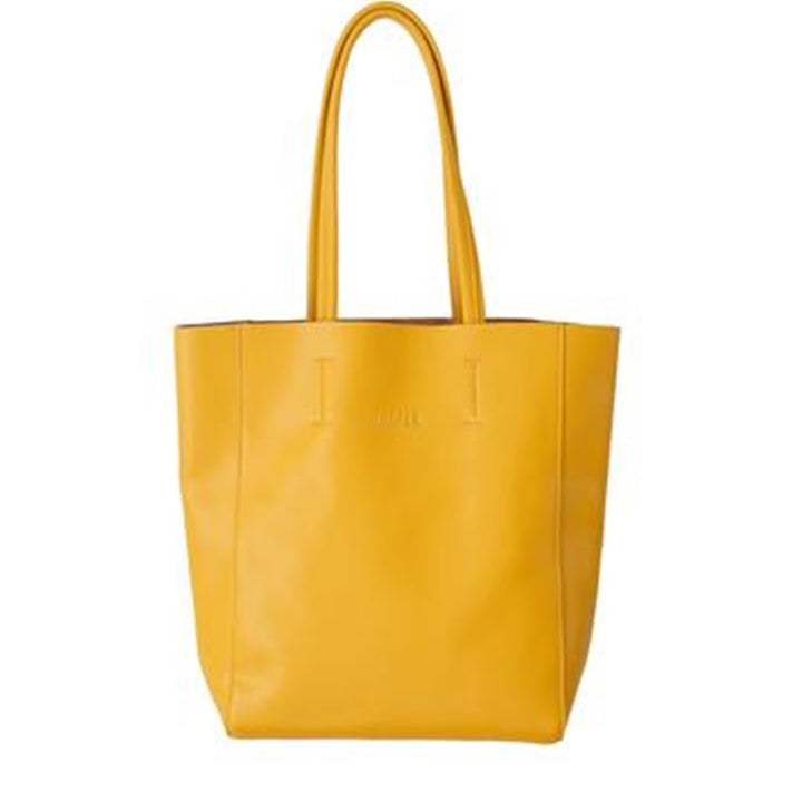Hoopla - Large Portrait Tote - Mustard