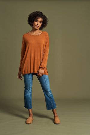 Eb & Ive - Maya Knit - Terracotta