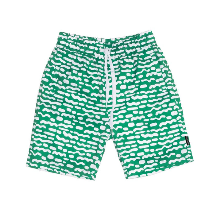 Band of Boys - Boardies Stripe Repeat - Green