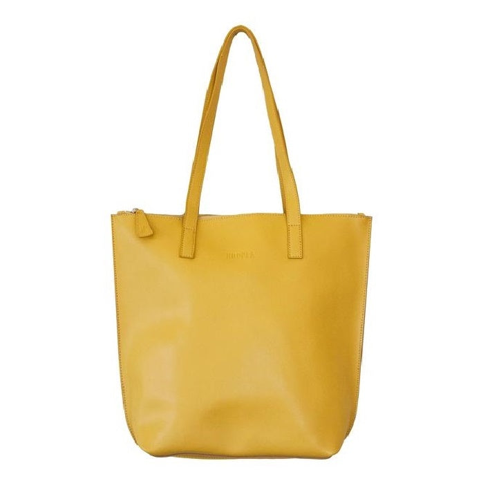 Hoopla - Small Zip Tote - Mustard