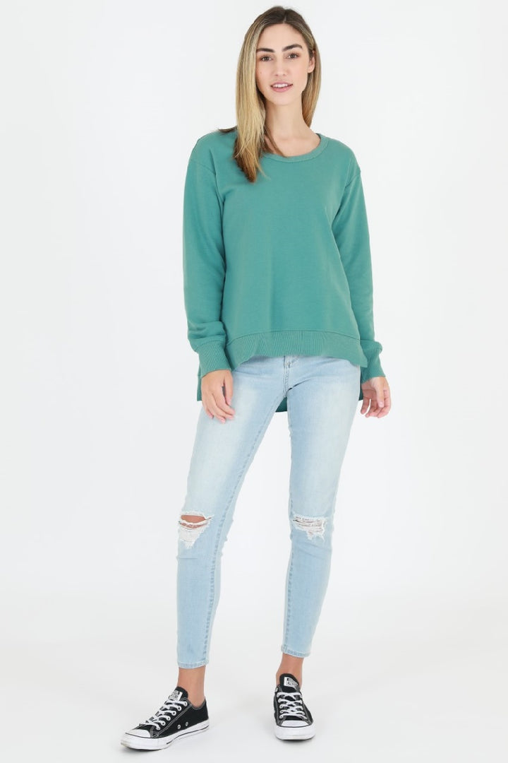 3rd Story - Ulverstone Sweater - Sea Green