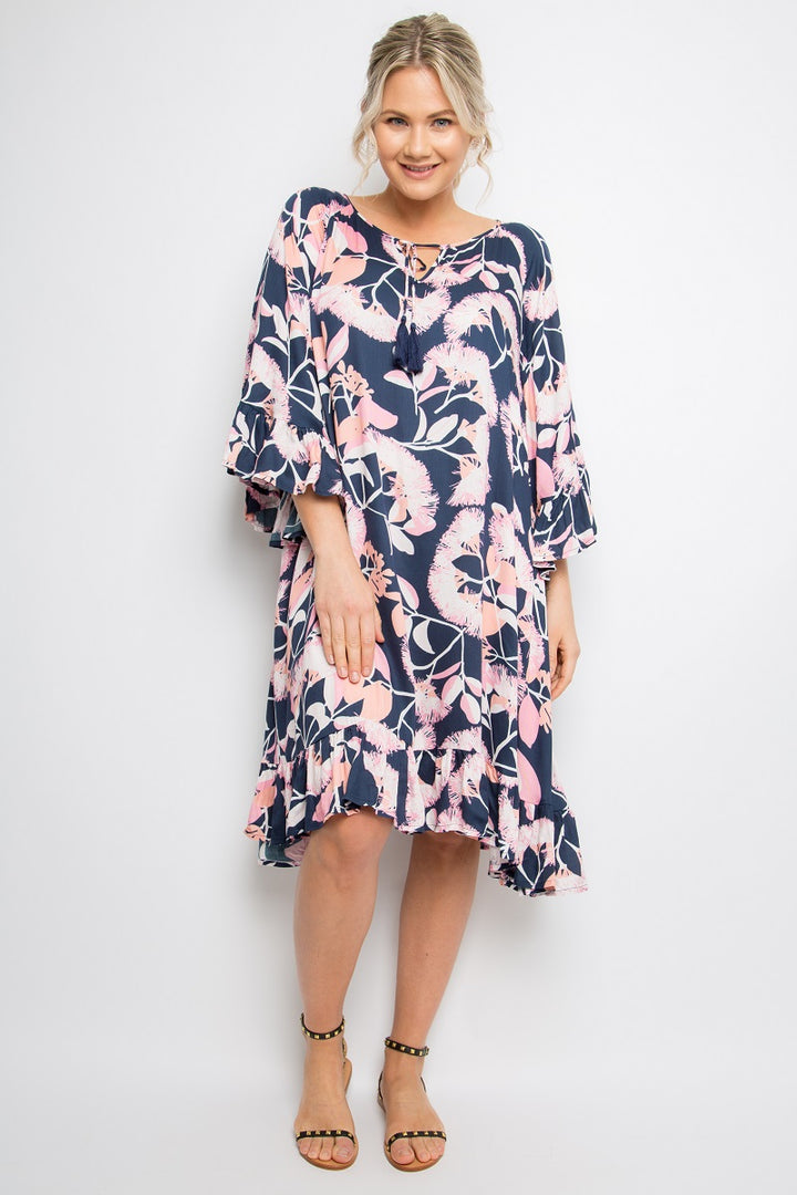 PQ Collection - Flyaway Dress - Blossom Gum