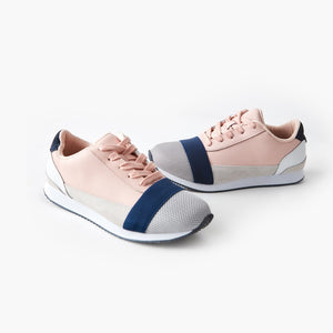 Walnut Melbourne - Sports Luxe Sneaker - Pink Multi