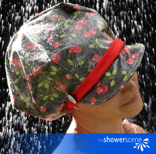 Cheeky Cherries Shower Cap / Shower Hat