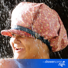 Load image into Gallery viewer, Star Spangled Shower Cap / Shower Hat MEN & WOMEN