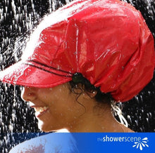 Load image into Gallery viewer, Wild Red Shower Cap / Shower Hat