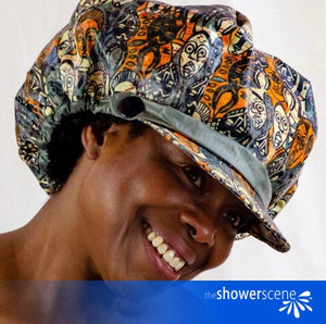 Mesermizing Masks Shower Hat / Shower Cap