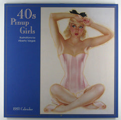 40's PIN-UP GIRLS  - 1997 Calendar