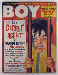 Boy Illustrated - #1 06/1962