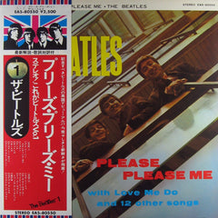 Please Please Me - EAS-80550 Stereo - Japanese Pressing