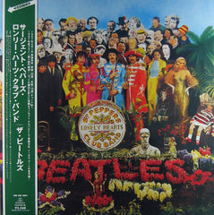 Sgt. Pepper's Lonely Hearts Club Band - TOJP-60138 Stereo - Japanese Pressing