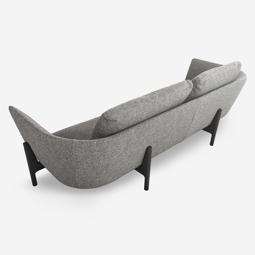 Loft Sofa with Wood Legs