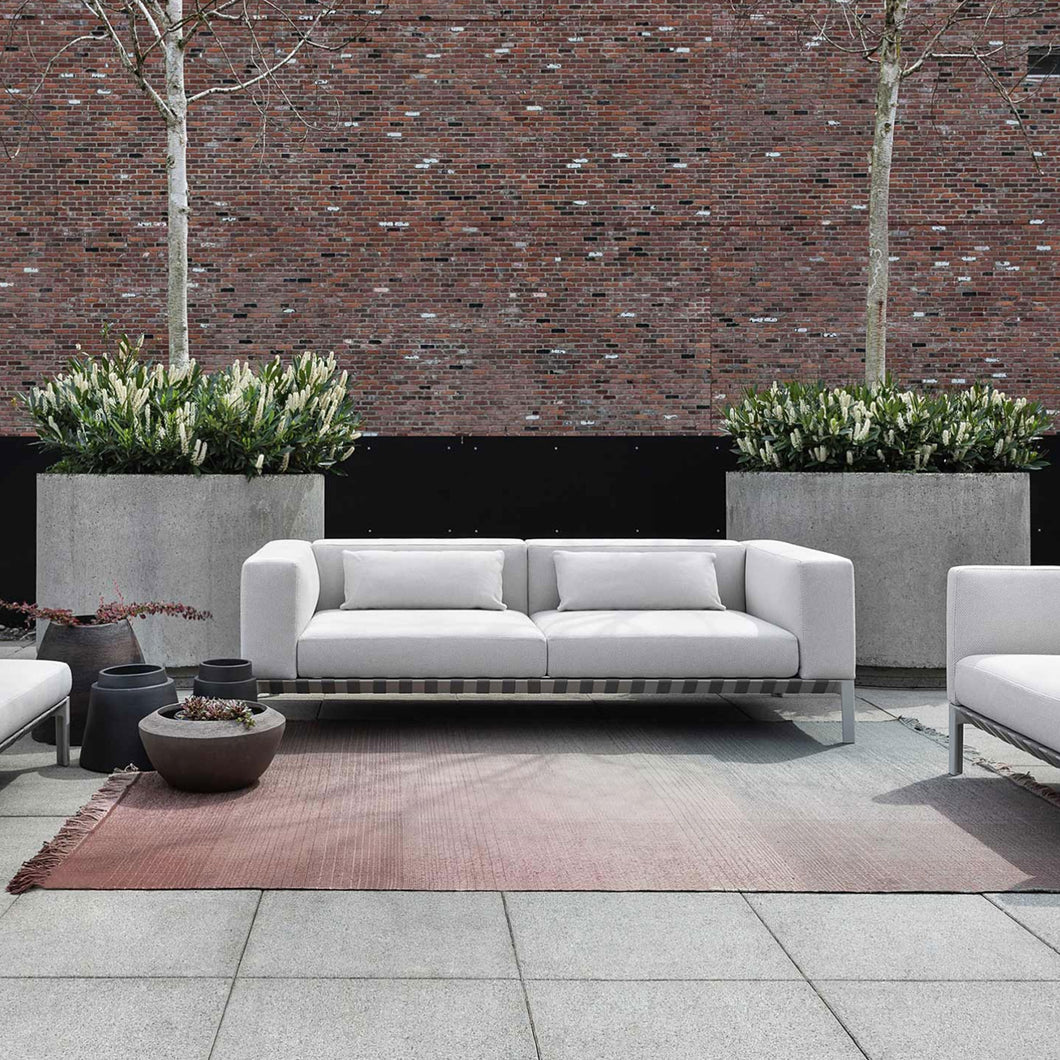 Outdoor Able Sofa with Arms