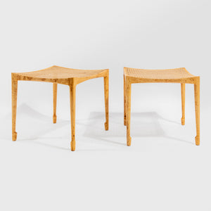 Bernt Petersen Pair of Stools - SOLD