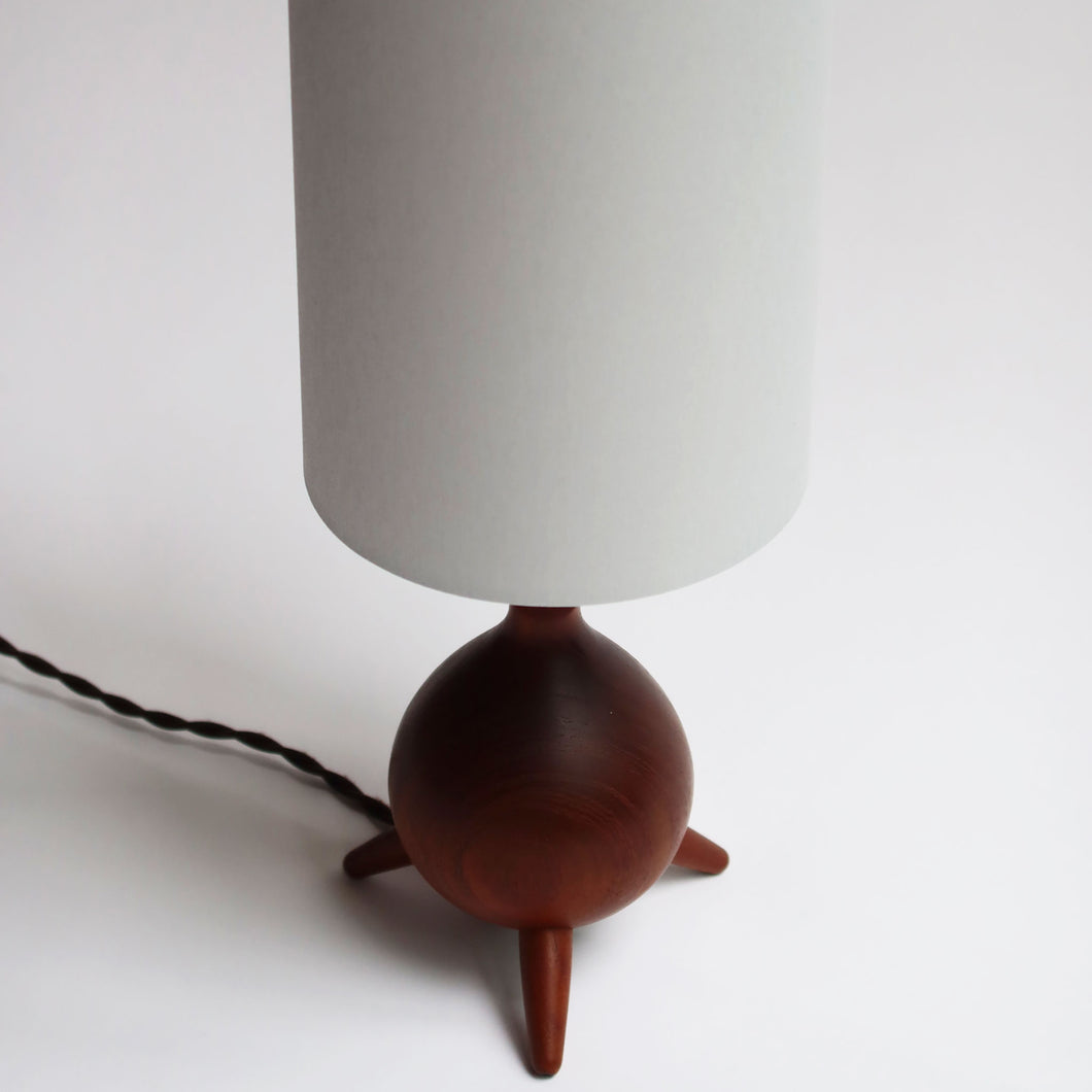Danish Cabinetmaker Small Teak Lamp
