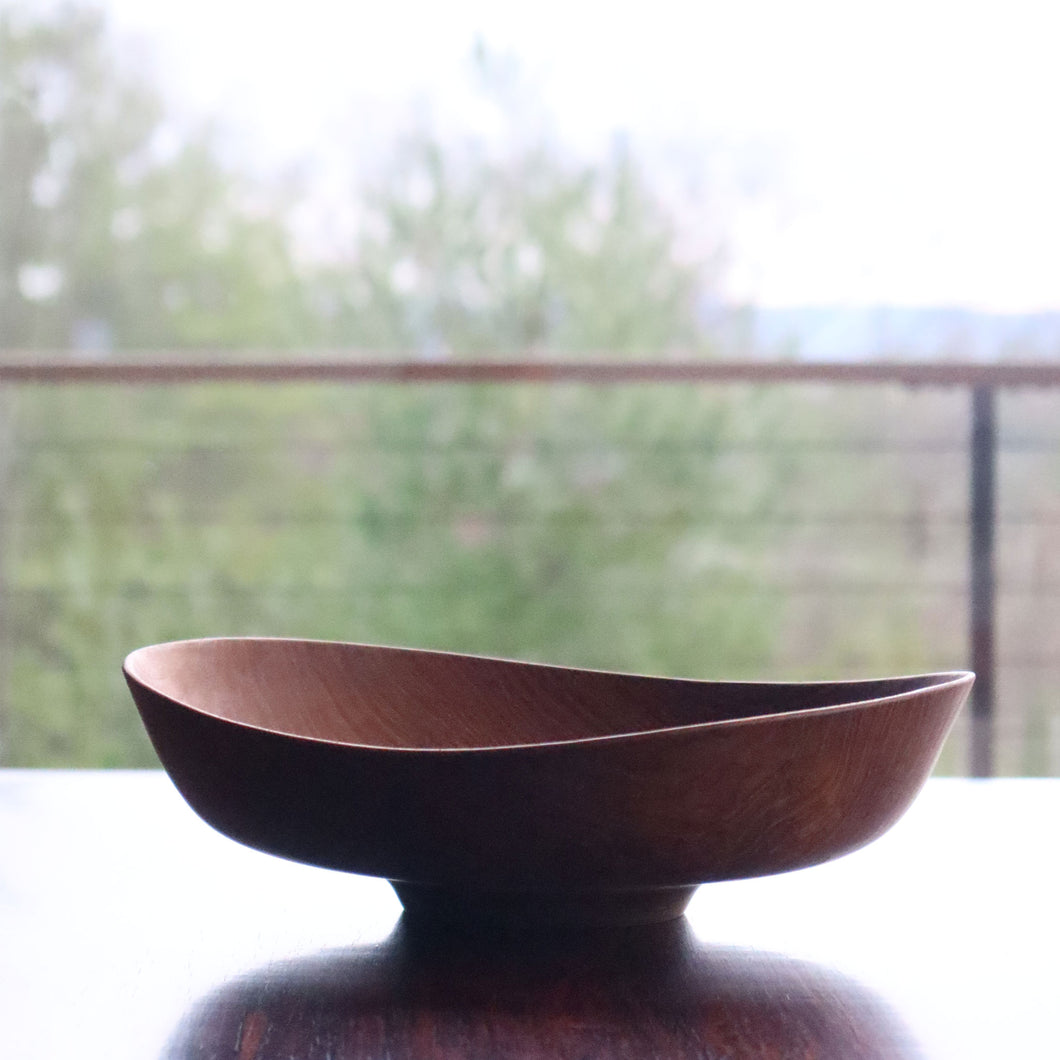 Finn Juhl Large Fruit Bowl in Teak