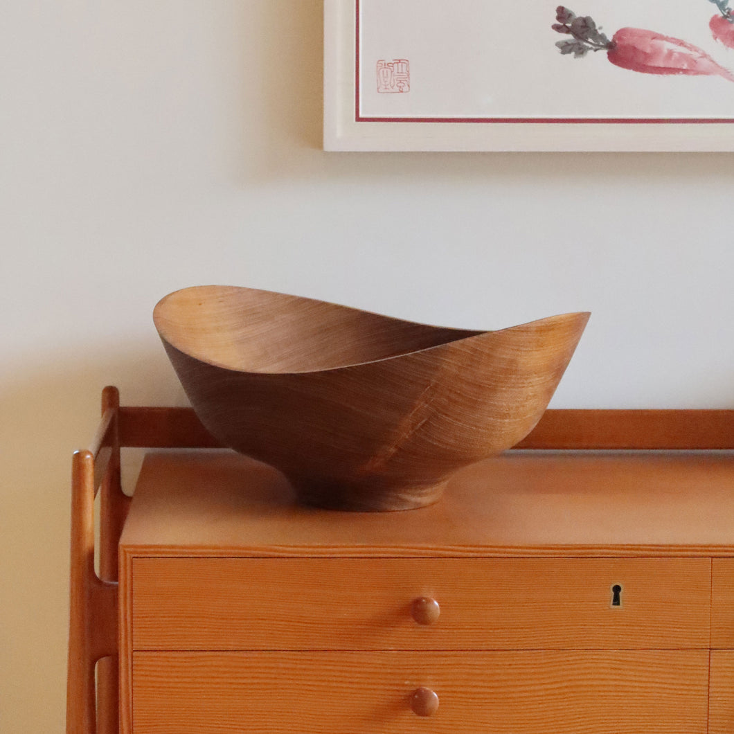 Finn Juhl Large Salad Bowl in Teak