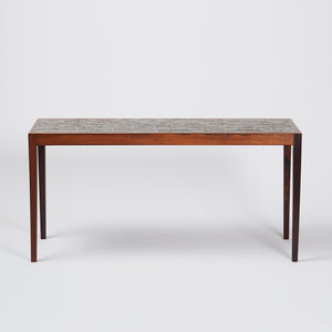 Frits Henningsen Ceramic Top Coffee Table