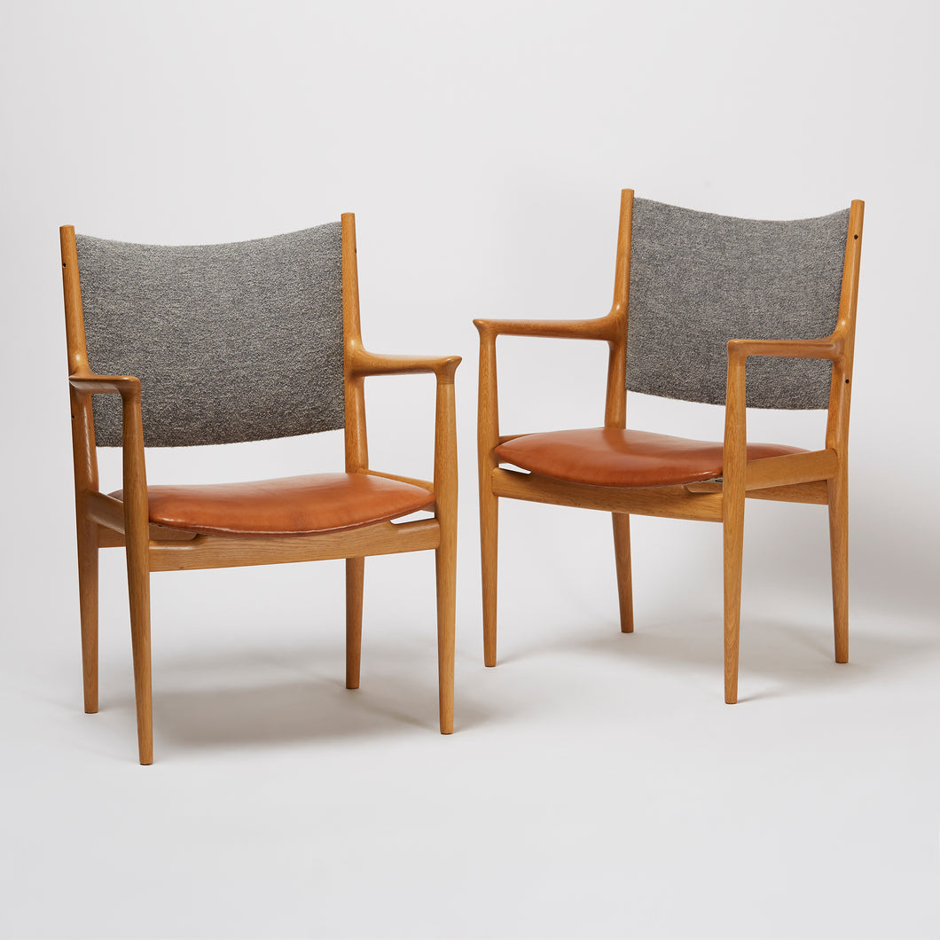 Hans J. Wegner Pair of Armchairs