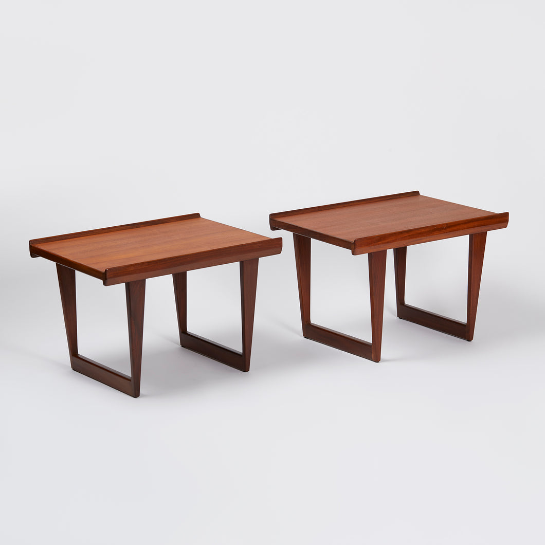 Kai Kristiansen Angled Side Tables