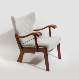 N.C. Christoffersen Curved Armchair