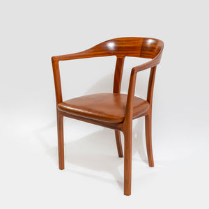 Ole Wanscher Round T Chair