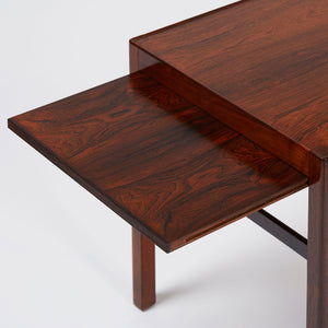 Ole Wanscher Coffee Table with Hidden Extensions