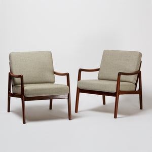 Ole Wanscher Pair of FD109 Armchairs