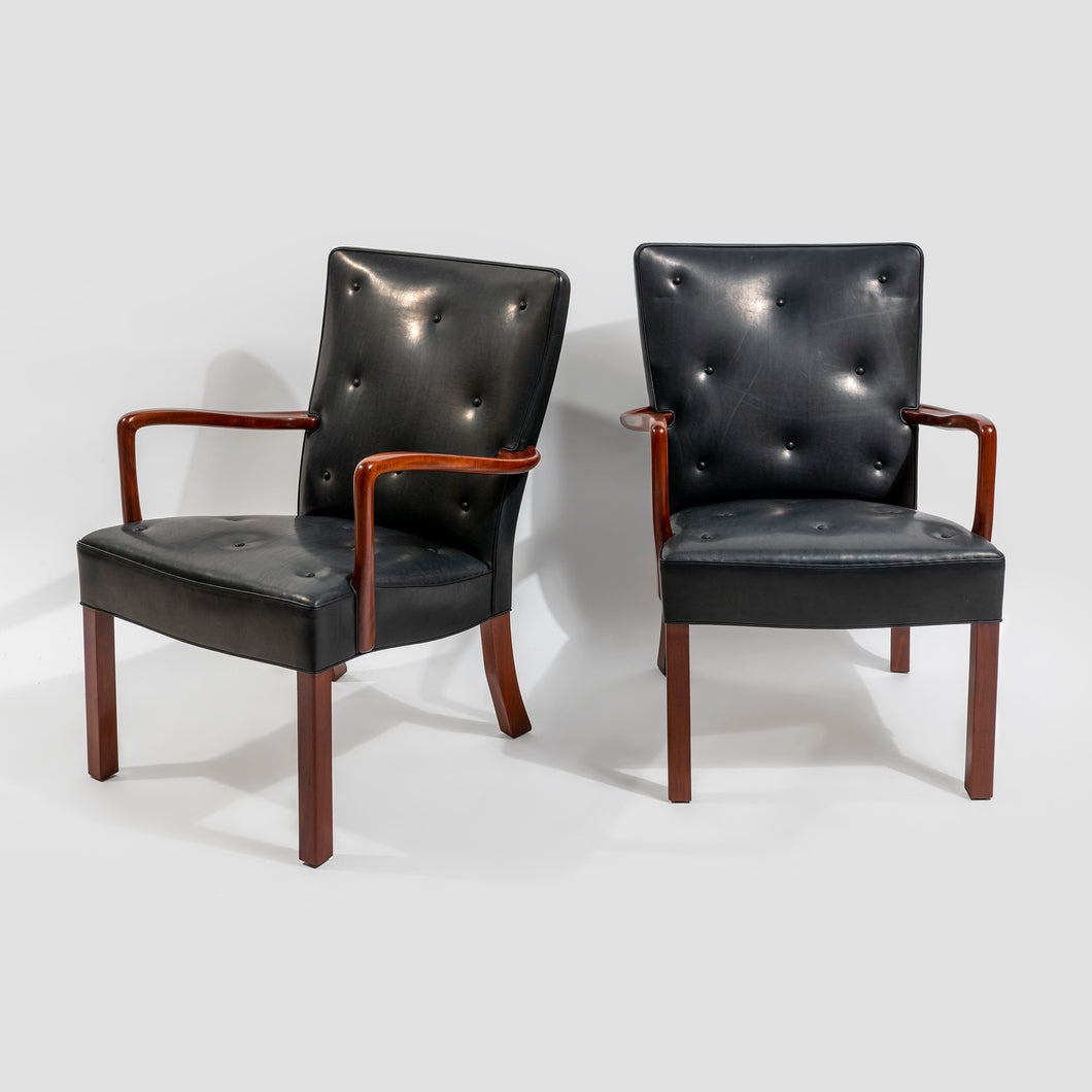 Orla Mølgaard-Nielsen Pair of Easy Chairs