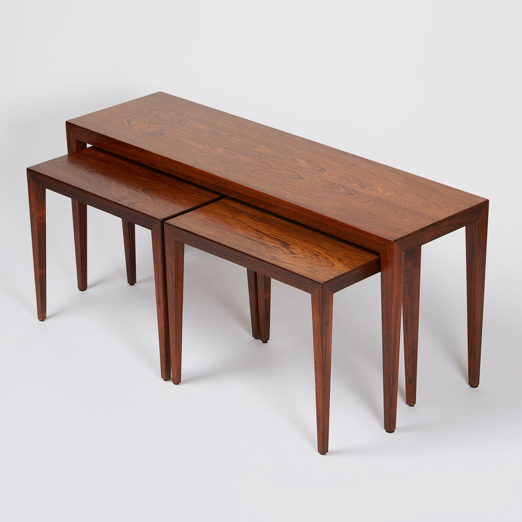 Severin Hansen Jr. Trio of Nesting Tables