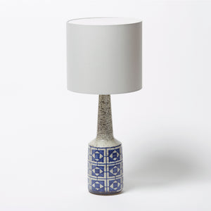 Soholm Blue and White Ceramic Lamp