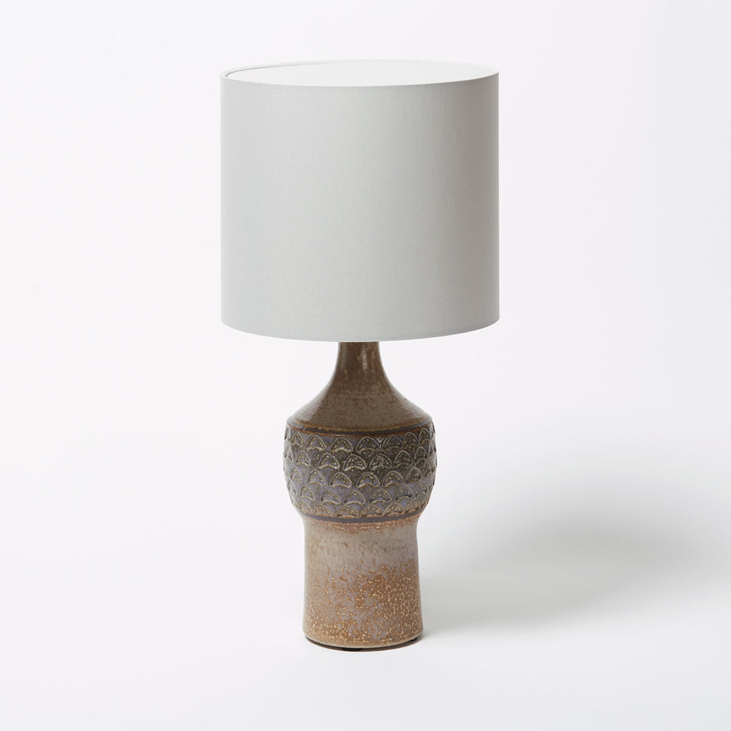 Soholm Crescent Stamped Ceramic Lamp