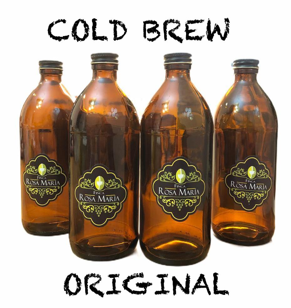 Cold Brew ORIGINAL Finca Rosa Maria (4 PZAS de 560 ml)