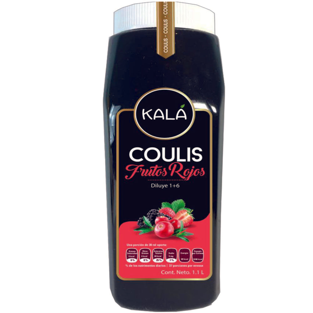 Coulis de Frutos Rojos 1.1L