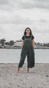 Diara jumpsuit - Forest Green