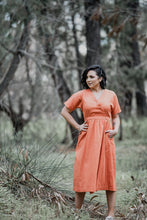 Load image into Gallery viewer, Havana Dress - Tangerine