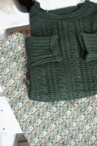Fauna Jumper - Forest Green