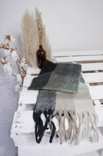 Load image into Gallery viewer, Opal scarf - Mint Check