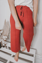 Load image into Gallery viewer, Eden Knitted Culottes - Burnt Umber