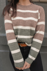 Rosina Colour Block Knit - Multi