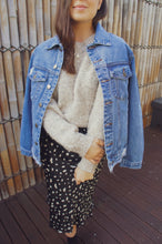 Load image into Gallery viewer, Ryna Boyfriend Denim Jacket - Blue