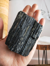 Load image into Gallery viewer, Black Tourmaline Chunk