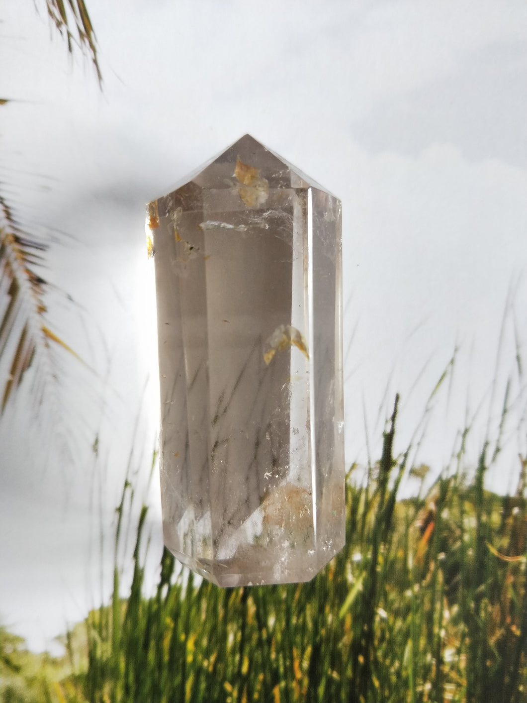 Smokey Quartz Crystal Point