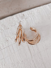 Load image into Gallery viewer, Laurell Hoop Earrings - Gold
